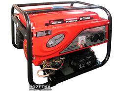 Генератор бензиновый Бригадир Standart БГ-2500ES (64998000)