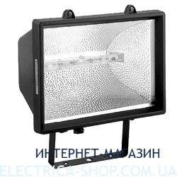 Прожектор под галогеновую лампу Delux 500W цвет-черный IP54