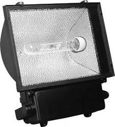 Металло-галогенный прожектор Feron 400W 230V E40 с пускателем, SP010 черный
