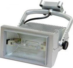Металло-галогенный прожектор Feron 70W 230V R7S с лампой и пускателем, AL113 титан