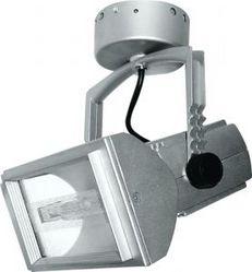 Металло-галогенный прожектор Feron 150W 230V R7S с пускателем, серый 2804