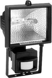 Прожектор с датчиком Feron 500W 230V R7S с лампой, белый, GL2402/FL24